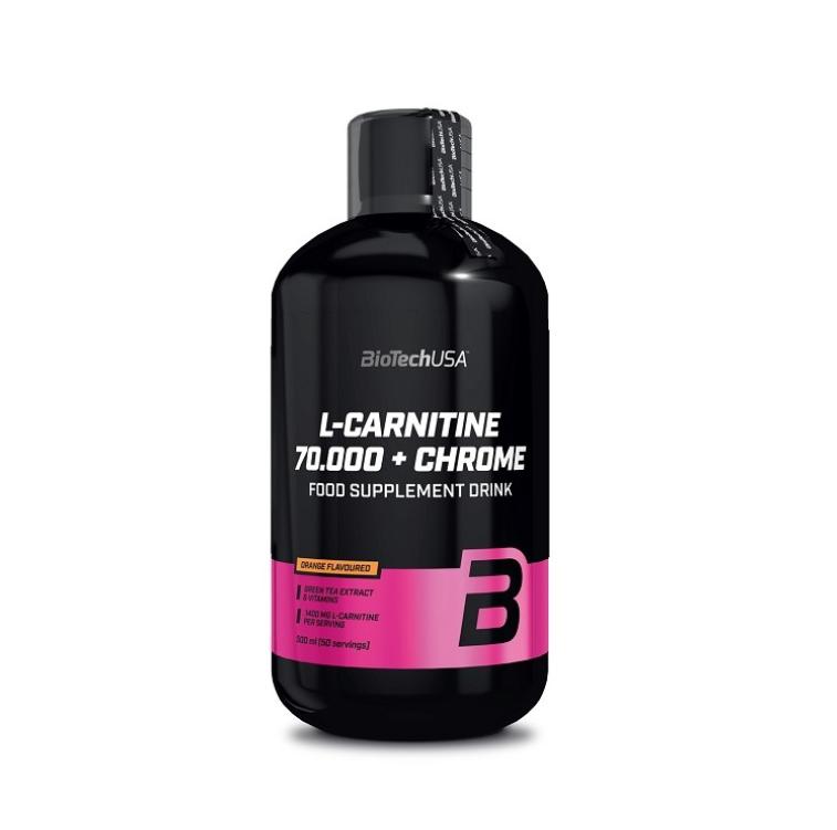 L-CARNITINE 70.000 + CHROME 500 ml