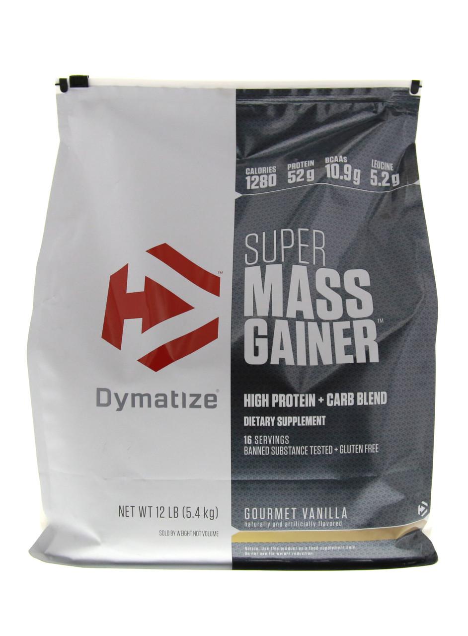 SUPER MASS GAINER 5450 гр