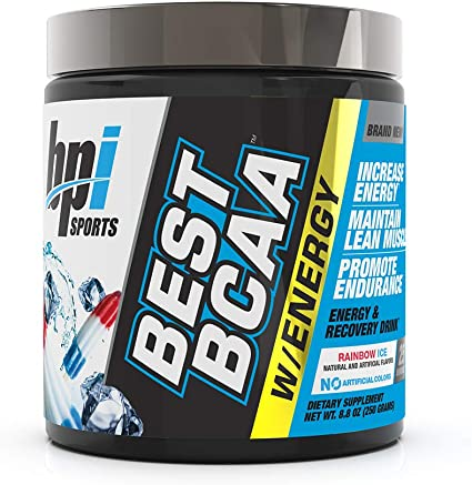 BEST BCAA W/ ENERGY 250g